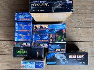 Star-Trek-Model-Deal-14-Kits-Amt-Monogram-Polar-Lights-Hot-Wheels-Geometric-New