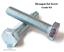 M5 SET SCREWS HEX HEAD FULLY THREADED BOLTS METRIC BZP DIN 933