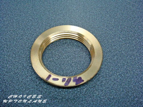 """3//8/"""",1//2/"""",3//4/"""",1/"""",1-1//4/"""",1-1//2/"""",2/"""" BRASS FLANGED BACKNUT BSP IN SIZES"""