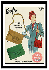 1940s-Wartime-Handbag-Sewing-Pattern-Make-Do-and-Mend-Pattern
