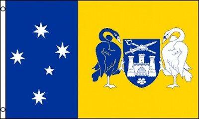 3/'x5/' Queensland Flag Banner Australia Ensign State Maltese Cross Union Jack 3x5