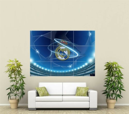 Real Madrid Football  Giant XL Section Wall Art Poster SP148