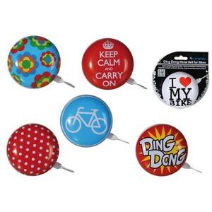 Fahrradklingel-Rad-Bike-Klingel-Ding-Dong-Glocke-Dekoration-Accessoire-Retro