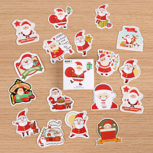 Christmas Decoration Stickers Glitter Crystal /& Foil Xmas Card Scrap booking P//P