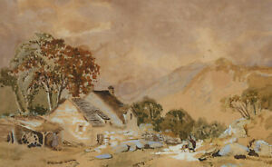 A. L. Liveridge - Signed Early 20th Century Watercolour, Idyllic Landscape