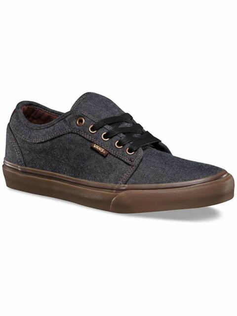 Vans Chukka Low Oxford BlackGum Men's Classic Skate Shoes Size 8.5