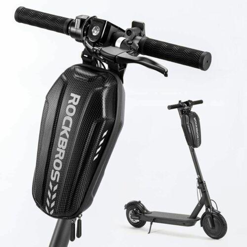 ROCKBROS Waterproof Electric Scooter Front Hanging Bag Folding Bike Frame Bag