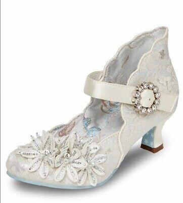 Joe Browns Couture Natalia Shoes Bag Polka Dot Floral Peep Toe Heels 4-8