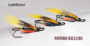 3-x-MUNRO-KILLERS-size-12-SALMON-fishing-flies-DOUBLES-LADYFLYTYER
