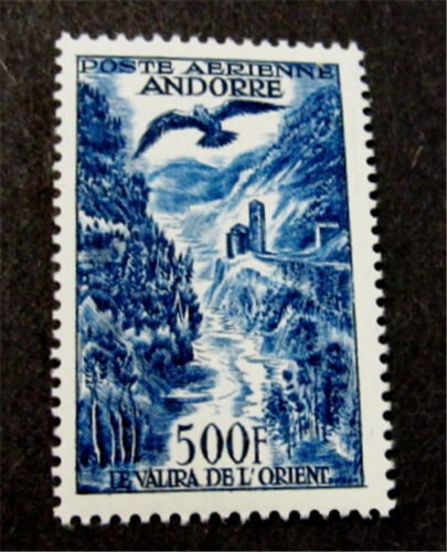 French Andorra Stamp # C4 Mint OG NH $120