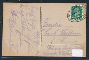 09457) Bahnpost Ovalstempel Dresde-bodenbach Train 444, Ak Edmund Gluantes 1927-afficher Le Titre D'origine Forfaits à La Mode Et Attrayants