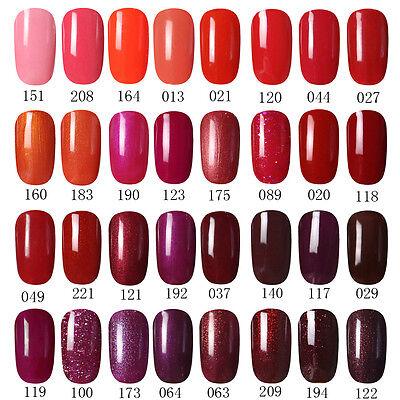 GEL LAB 10ml RED WINE Series Shinny Soak Off UV/LED Gel Polish Top Primer