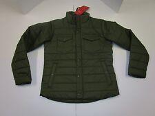Nwt Mens Levis Lightweight Green Puffer Jacket Coat Small
