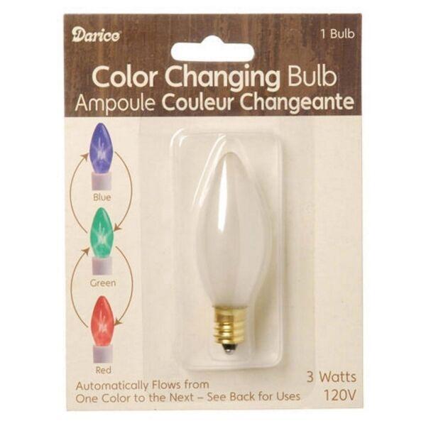 1 Darice 3 Volt Color Changing Bulb 6201 87