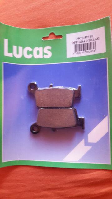 Plaquette de freins Lucas TRW MCB 575 SI Honda CR 125/250 CR 50 Xl 250 Yamaha