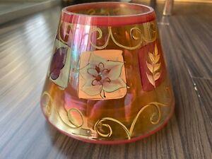 Yankee Candle Glass Shade Noelle Dahlen Autumn Leaves Fall ...