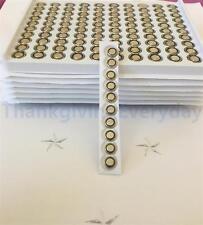 100 pk AG1 364 LR60 G1 531 LR621 SR60 1.5V Bulk HighPower Alkaline battery!