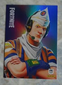Trading Cards FORTNITE Serie 1 HOLO: GRILL SERGEANT # 127, PANINI
