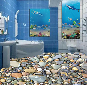 3D acumulan Piedra Papel Pintado Mural Parojo Impresión de suelo 913 5D AJ Wallpaper Reino Unido Limón