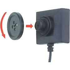 NEW Lawmate Mini 550 Resolution Button Screw Camera Covert Analog Cam BU-18