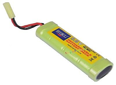 2800mAh NiMH 9.6V Super Power Rechargeable Battery Cell For RC Tank Airsoft