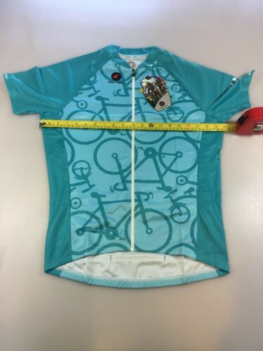 Pactimo Womens Shortsleeve Cycling Jersey XLarge XL 5823
