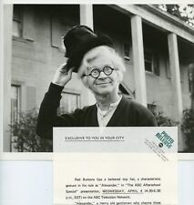 RED BUTTONS ALEXANDER THE ABC AFTERSCHOOL SPECIAL ORIGINAL 1973 ABC TV PHOTO