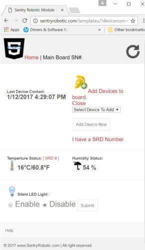 DHT11 NodeMcu ESP-12E WIFI Code Cloud Data Ready To Use Temperature /& Humidity