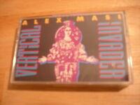 Sealed Rare Alex Masi Cassette Tape Vertical Invader Metal Dark Lord Tnt '90