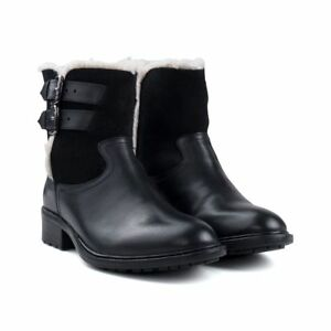 Suede Grace Fleece Lined Ankle Boots UK