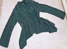 Porto SF San Francisco shirt hi low blouse sz Large