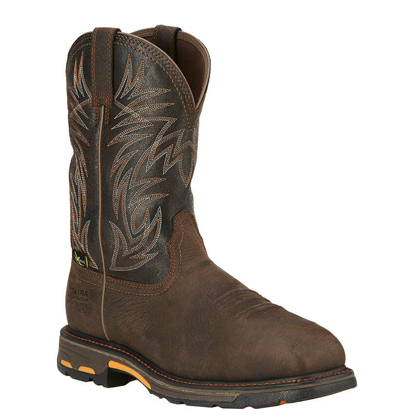 Ariat Mens Workhog H2O Met Guard Comp Toe Work Boot 16265
