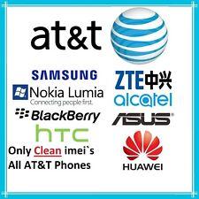 Unlock Code ATT At&t Nokia LUMIA Motorola Samsung Xperia