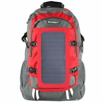 7watt Solar Charger Backpack With 10,000 Mah Battery Pack For Iphone,tablets