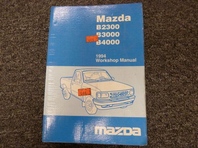 1994 Mazda B Series B2300 B3000 B4000 Pickup Truck Shop