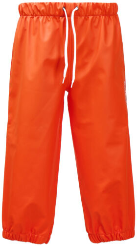 Didriksons Mädchen Regenhose Outdoorhosen MIDJEMAN PANTS 5 orange winddicht