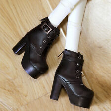 MSD Shoes 1/4 BJD Shoes Supper Dollfie Boots Dollmore Luts AOD DZ MID High heels