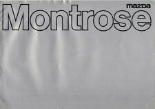 Mazda Montrose 1979 UK Market Sales Brochure 1600 2000 GL GLS Saloon Coupe 626