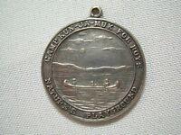 1927 CAMP KUN-JA-MUK SPECTATOR NY STERLING SILVER MOST PROGRESSIVE CAMPER MEDAL