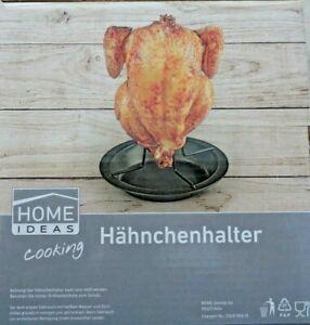 Hähnchenbräter Geflügelhalter Edelstahl Röster BBQ Chicken-HähnchenGriller Grill