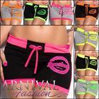 NEW CASUAL SHORT PANTS ladies HOT PANTS 8 10 12 online women's GYM SHORTS S M L