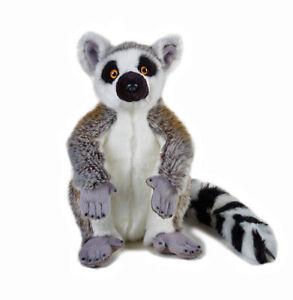 Lemur-Stuffed-Animal-Plush-Toy-12-034-40cm-Tall-National-Geographic-NEW