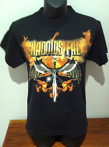 SHADOWS-FALL-Guitar-Tour-T-SHIRT-OFFICIAL-MERCHANDISE-SIZE-YOUTH-LARGE-Rare