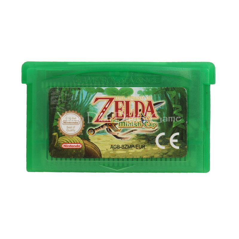 Legend of Zelda Six Games Nintendo GBA Video Game Cartridge Console Card 2