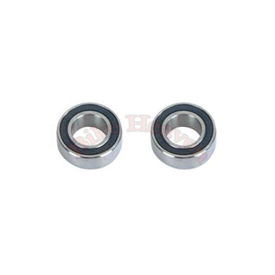 2 x Bicycle Rear Wheel Axle 1//4 Inch x 7 Ball Bearing Cages Pair Bike WUR2US
