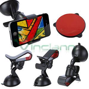 Supporto-auto-VETRO-CRUSCOTTO-per-iPhone-6-Plus-antivibrazione-ventosa-X3T
