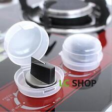 Weiß 2Schutzkappe Herdschutz Knopfschutz für Herdschalter Schalter Herdknopf