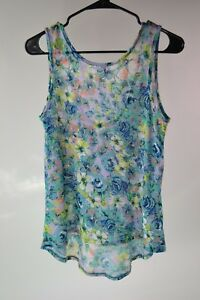 Happening-In-The-Present-H-I-P-Women-039-s-High-Low-Tank-Size-S-Small