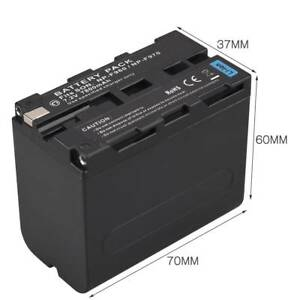 7-2V-7800mAh-Ersatz-Li-ion-Battery-For-Sony-NP-F960-NP-F970-Digtal-Kamera