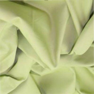 100%  Cotton Poplin Plain Fabric - by the METRE
